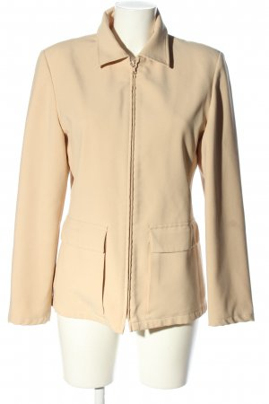 United Colors of Benetton Kurz-Blazer creme Casual-Look