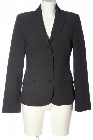 United Colors of Benetton Kurz-Blazer hellgrau meliert Business-Look