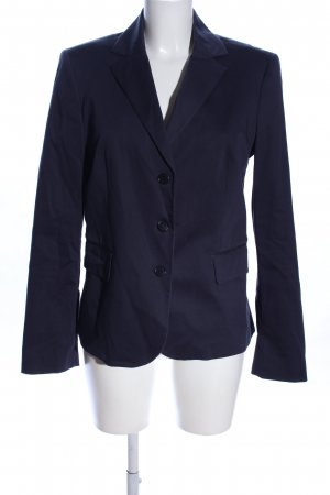 United Colors of Benetton Kurz-Blazer blau Business-Look