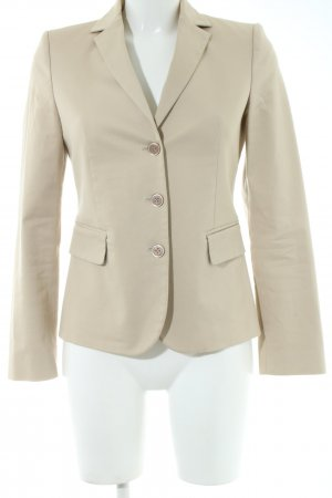 United Colors of Benetton Kurz-Blazer creme Business-Look