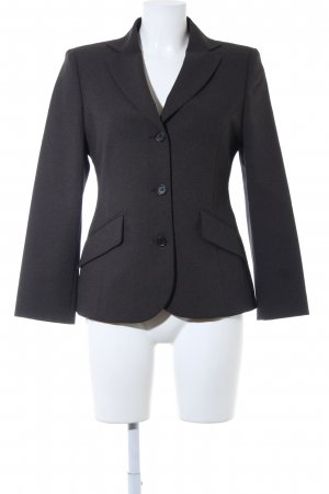 United Colors of Benetton Kurz-Blazer dunkelgrau Business-Look