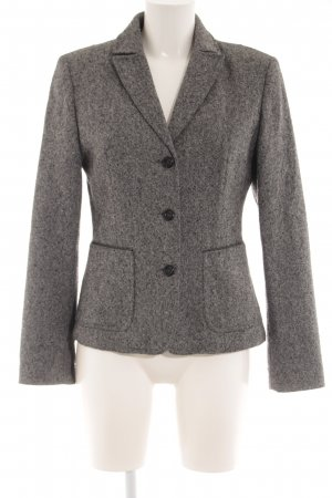 United Colors of Benetton Kurz-Blazer dunkelgrau-schwarz meliert Business-Look