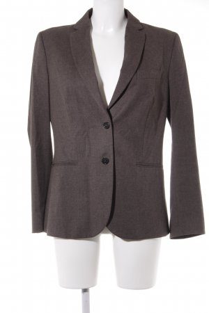 United Colors of Benetton Kurz-Blazer graubraun Business-Look