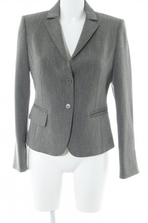 United Colors of Benetton Kurz-Blazer hellbeige-grau meliert Elegant