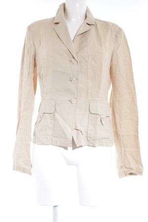 United Colors of Benetton Kurz-Blazer hellgelb Casual-Look