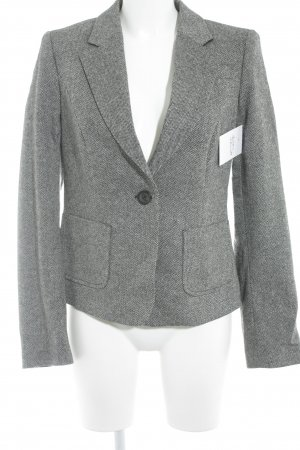 United Colors of Benetton Kurz-Blazer schwarz-weiß Business-Look