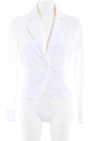 United Colors of Benetton Kurz-Blazer weiß Elegant