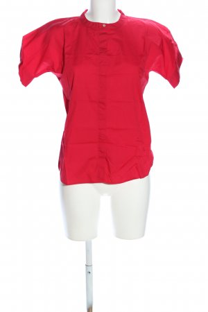 United Colors of Benetton Kurzarm-Bluse rot Casual-Look