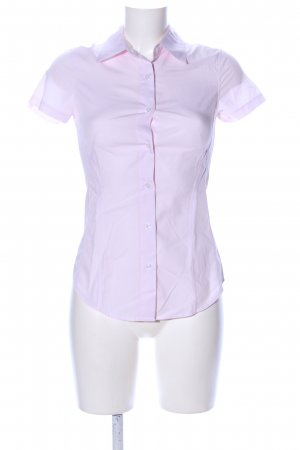 United Colors of Benetton Kurzarm-Bluse pink Streifenmuster Business-Look