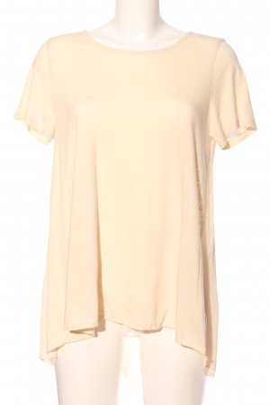 United Colors of Benetton T-Shirt creme Casual-Look