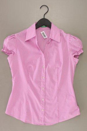 United Colors of Benetton Kurzarmbluse Größe M gestreift rosa aus Baumwolle