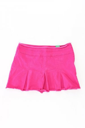 United Colors of Benetton Kurzer Rock Größe 42 pink aus Baumwolle