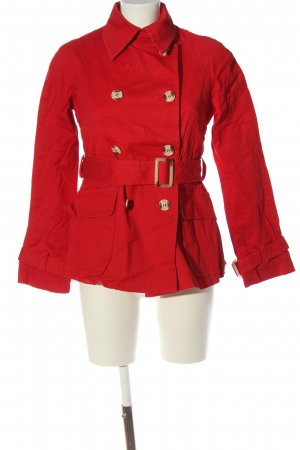 United Colors of Benetton Kurzmantel rot Casual-Look