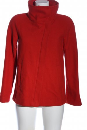 United Colors of Benetton Korte Jas rood casual uitstraling