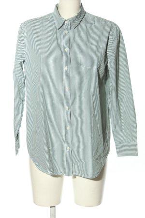 United Colors of Benetton Bluzka z długim rękawem zielony-biały