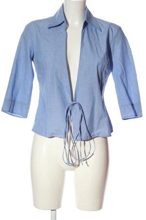 United Colors of Benetton Langarm-Bluse blau Casual-Look