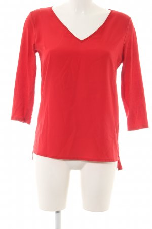 United Colors of Benetton Langarm-Bluse rot Casual-Look