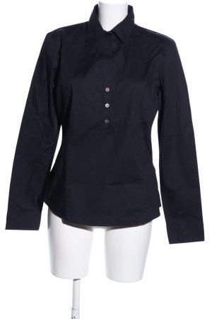 United Colors of Benetton Langarm-Bluse schwarz Business-Look