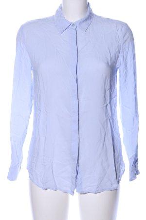 United Colors of Benetton Bluzka z długim rękawem niebieski W stylu biznesowym