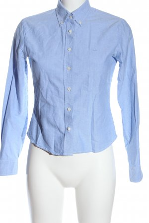 United Colors of Benetton Langarmhemd blau Business-Look