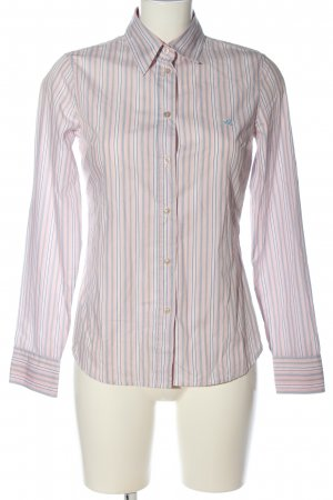 United Colors of Benetton Langarmhemd pink Streifenmuster Business-Look
