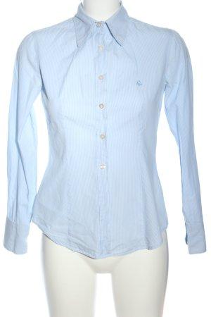 United Colors of Benetton Shirt met lange mouwen blauw gestreept patroon