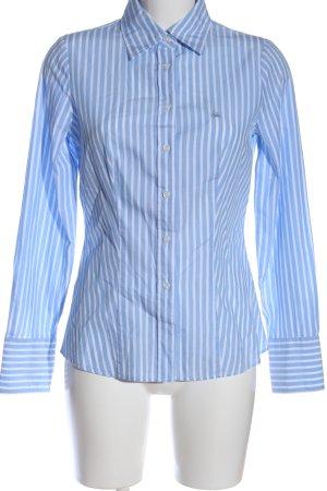 United Colors of Benetton Shirt met lange mouwen blauw-wit gestreept patroon