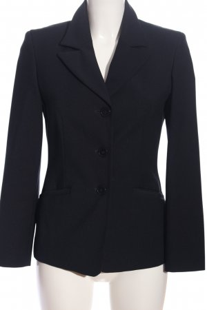 United Colors of Benetton Long-Blazer schwarz Business-Look