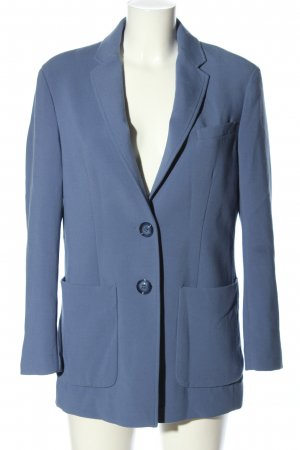 United Colors of Benetton Long-Blazer blau Business-Look