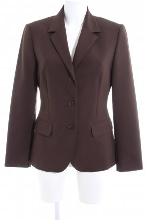 United Colors of Benetton Long-Blazer bronzefarben Business-Look