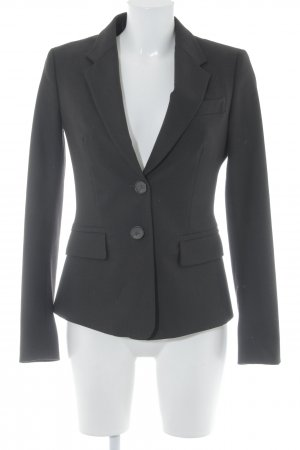 United Colors of Benetton Long-Blazer dunkelbraun Business-Look