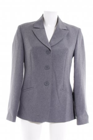 United Colors of Benetton Long-Blazer grau meliert Business-Look
