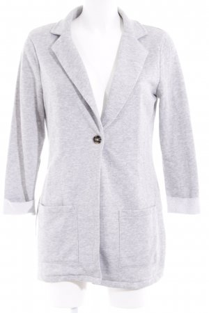 United Colors of Benetton Long-Blazer hellgrau meliert Elegant