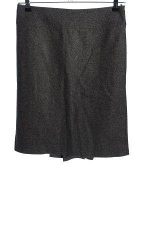 United Colors of Benetton Spódnica midi czarny Melanżowy W stylu biznesowym