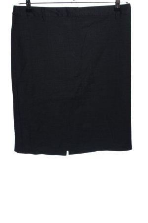 United Colors of Benetton Spódnica midi czarny W stylu biznesowym