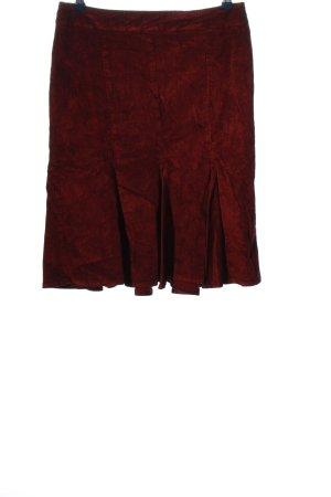 United Colors of Benetton Spódnica midi czerwony W stylu casual