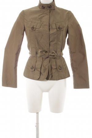 United Colors of Benetton Military Jacket green grey military look