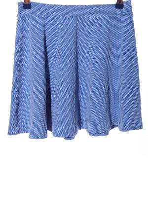 United Colors of Benetton Minirock blau Allover-Druck Casual-Look