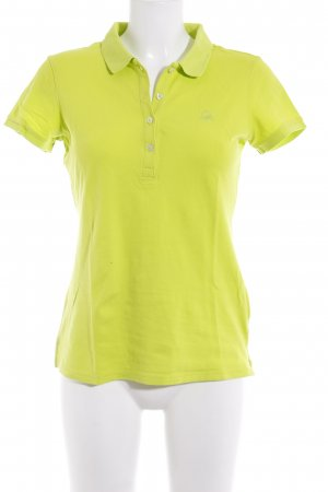 United Colors of Benetton Polo-Shirt wiesengrün Casual-Look