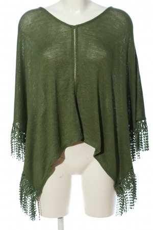 United Colors of Benetton Poncho braun Casual-Look