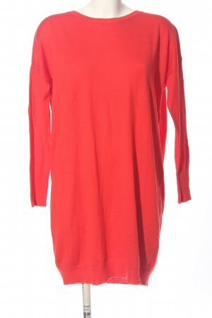United Colors of Benetton Pulloverkleid rot Casual-Look