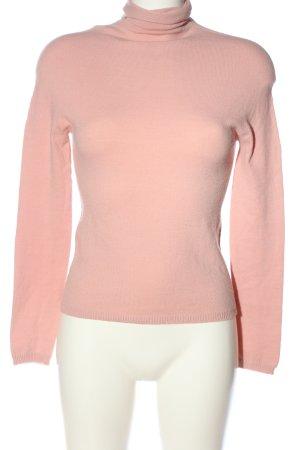 United Colors of Benetton Rollkragenpullover pink Casual-Look