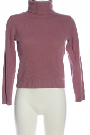 United Colors of Benetton Rollkragenpullover pink Casual-Look