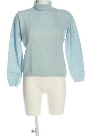 United Colors of Benetton Maglione dolcevita blu stile casual
