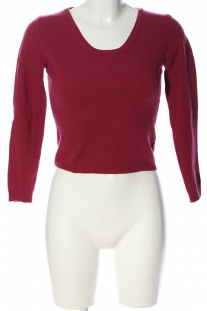 United Colors of Benetton Strickpullover rot Casual-Look