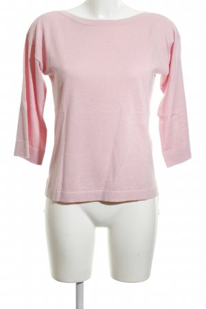 United Colors of Benetton Rundhalspullover pink klassischer Stil