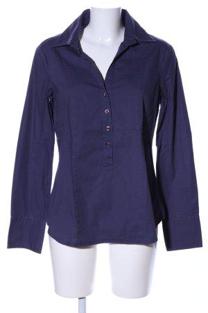 United Colors of Benetton Schlupf-Bluse blau klassischer Stil