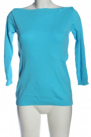 United Colors of Benetton Schlupf-Bluse blau Casual-Look