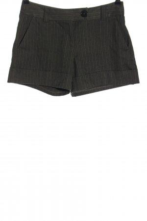 United Colors of Benetton Shorts hellgrau Streifenmuster Casual-Look