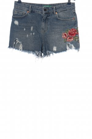 United Colors of Benetton Shorts mehrfarbig Casual-Look
